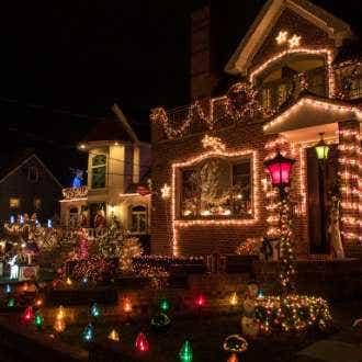 Christmas Lights at Mitre 10