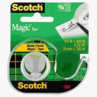 Scotch Magic Tape 19mm x 7.6m 105