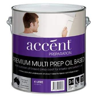 Accent® Multi Prep Oil Based 4L