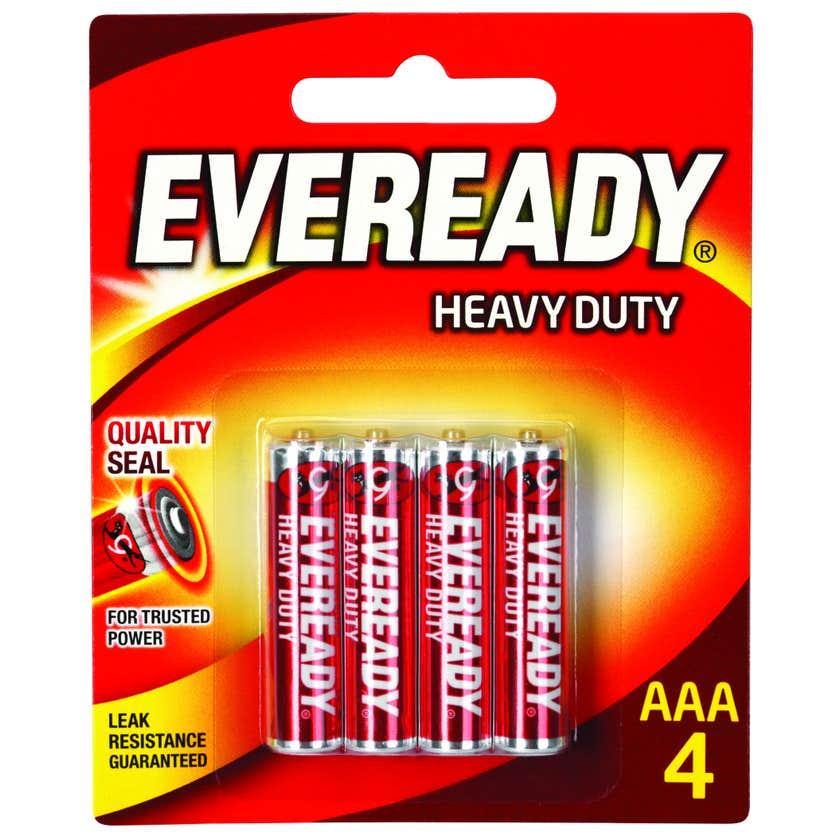 Eveready Heavy Duty Battery AAA