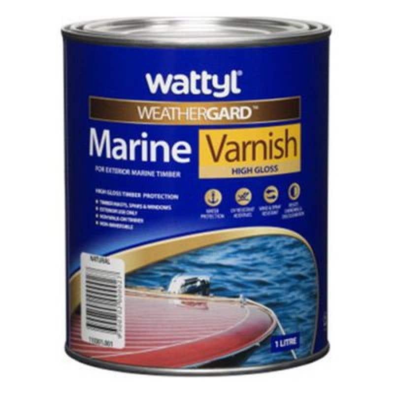 Weathergard Marine Varnish 1L