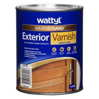 Weathergard Exterior Varnish 1L