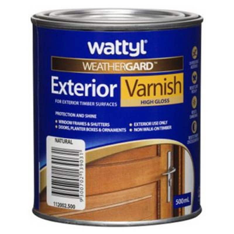 Weathergard Exterior Varnish 500ml