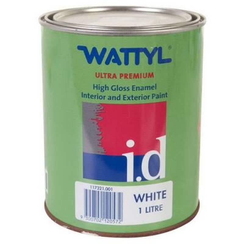 Wattyl Master Enamel Gloss White 1L