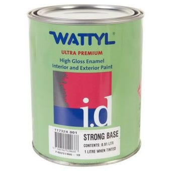 Wattyl Master Enamel Gloss Strong Tint Base 1L