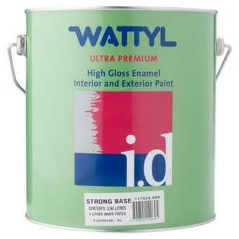 Wattyl Master Enamel Gloss Strong Tint Base 4L