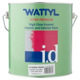 Wattyl Master Enamel Gloss Strong Tint Base 4L