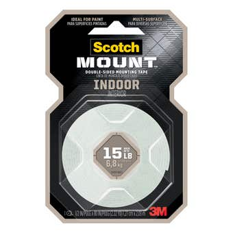 Scotch-Mount Indoor Double-Sided Mounting Tape 127mm x 2.03m