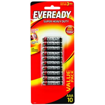 Eveready Super Heavy Duty Battery AAA