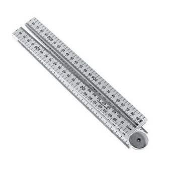 Stanley Folding Ruler Plastic 1m