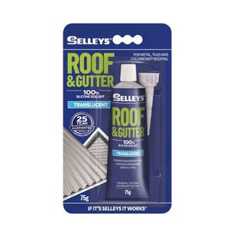Selleys Roof & Gutter Silicone 75g