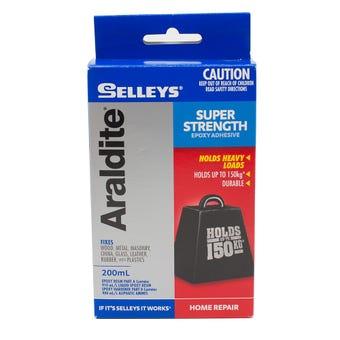 Selleys Araldite Super Strength Epoxy Adhesive 200ml