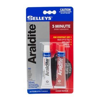 Selleys Araldite 5 Minute Epoxy Adhesive 35ml