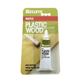 Selleys Plastic Wood Filling Cement Maple 50g