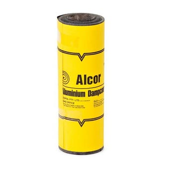 Alcor DPC Bitumen Coated Aluminium 230mm x 10m