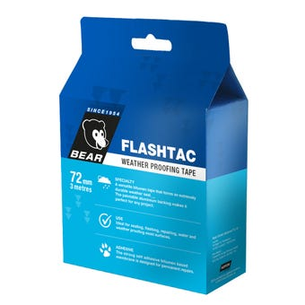 Bear Flashtac Weather Proofing Tape 72mm x 3m