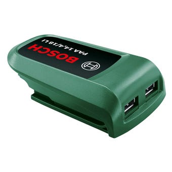 Bosch DIY 18V Charger with USB Port