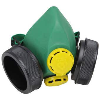 Protector Half Mask Twin Respirator Small/Medium