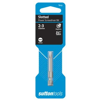 Sutton Tools Screwdriver Bit Slotted