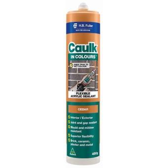 HB Fuller Caulk In Colours™ Cedar 450g