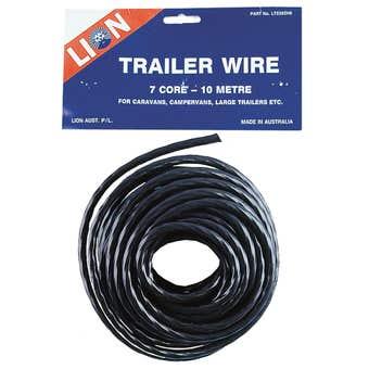 Lion Trailer Wire 7 Core 10m