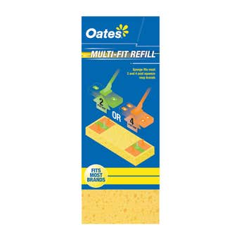 Oates Multi-Fit Squeeze Mop Refill