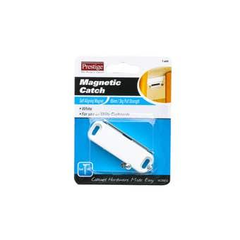 Prestige Magnetic Catch Light Duty White 65mm - 1 Pack