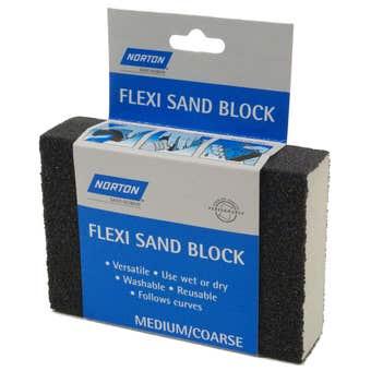 Norton Flexi Sand Block Medium/Coarse