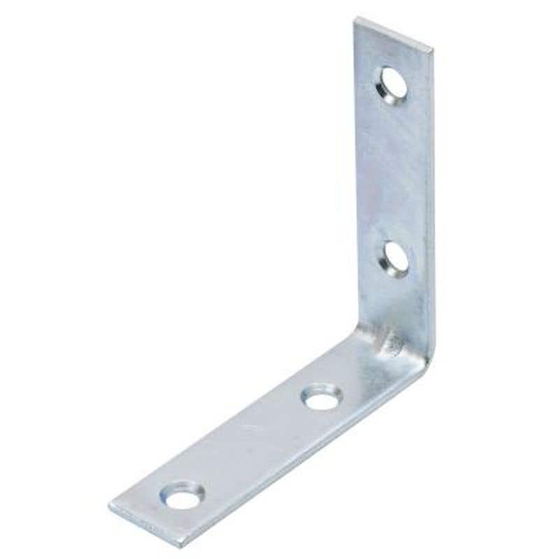 Zenith Angle Bracket Zinc Plated 75mm