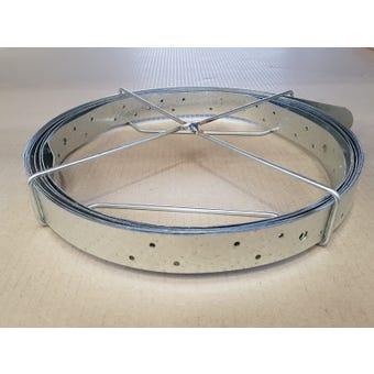 Wilmaplex Hoop Iron 30mm x 0.8mm x 6m Punched