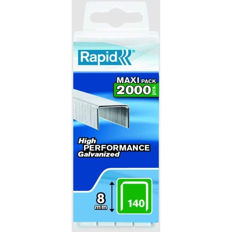 Rapid Heavy Duty Staple No.140 8mm - Box of 2000