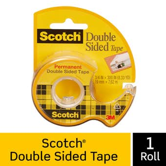 Scotch Double Sided Tape with Dispenser 12.7mm x 6.3m