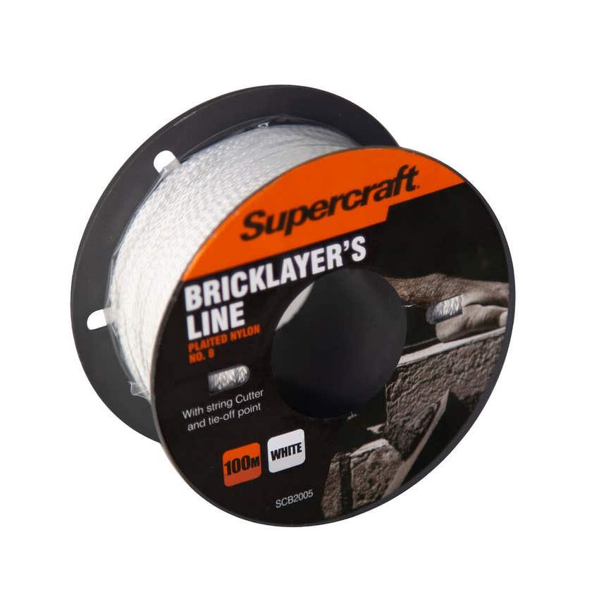 Supercraft Brickline White 100m