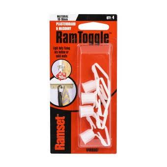 Ramset RamToggle 10 - 16mm 10kg - 4 Pack