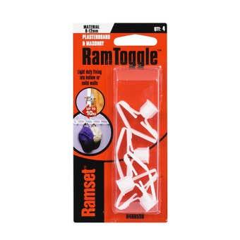 Ramset RamToggle 8 - 12mm 10kg - 4 Pack