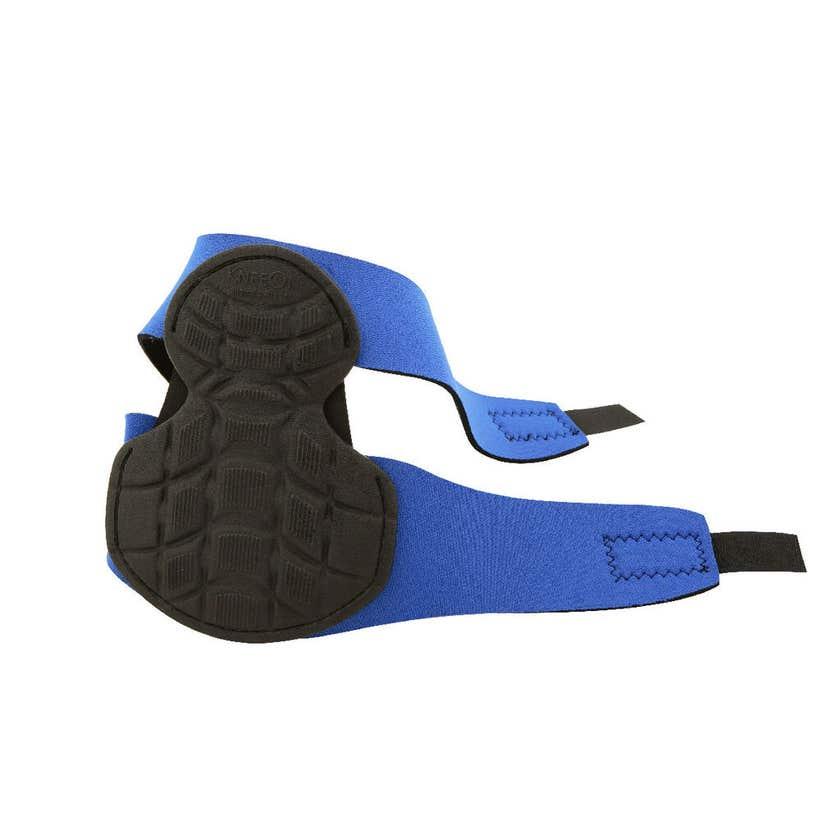 Crescent Lufkin Knee Protectors Blue/Black 2 Straps