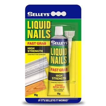 Selleys Liquid Nails Fast Grab Adhesive 95g
