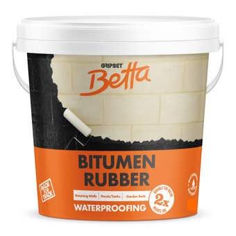 Gripset Betta Bitumen Rubber Waterproofing Membrane 4L