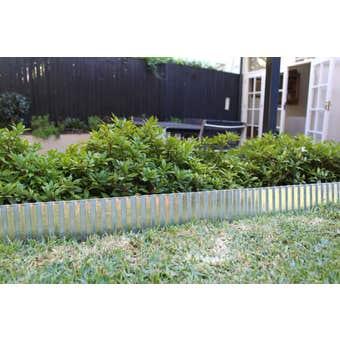 Earthcore Steel Garden Edging Galvanised 150mm x 6m