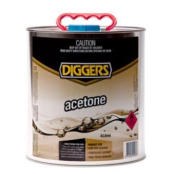 Diggers Acetone 4L
