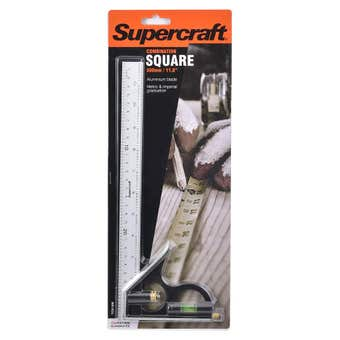 Supercraft Square Combination with Level 300mm