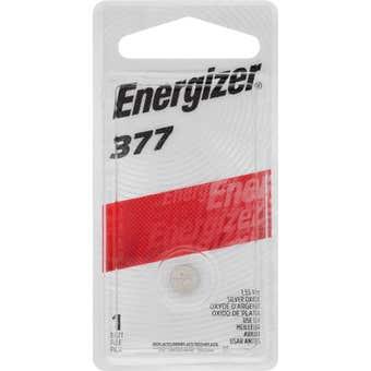Energizer Watch Battery 377 1.5V - 1 Pack
