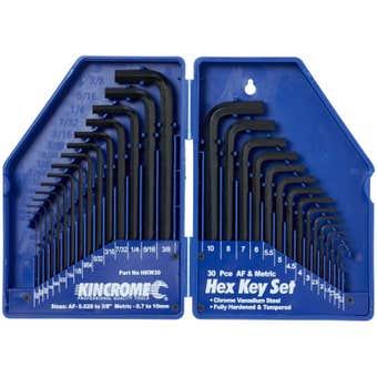 Kincrome Hex Key Wrench Set - 30 Piece