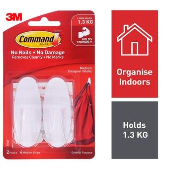 Command Designer Hook Medium - 2 Pack