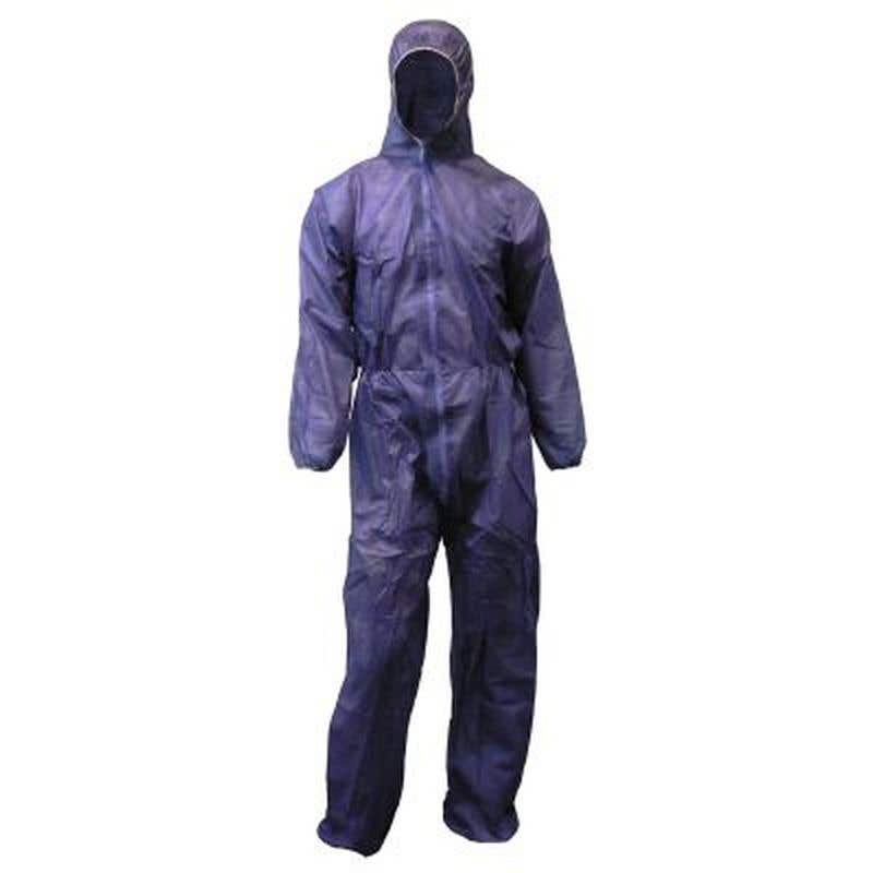 Protector Disposable Overall Blue Large