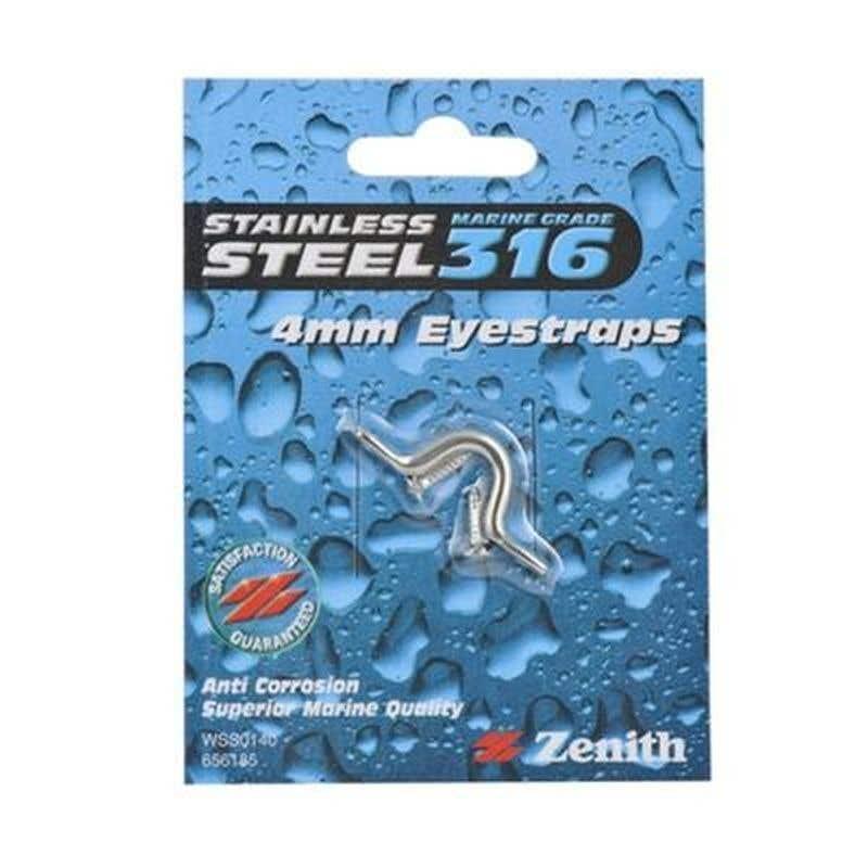 Zenith Eye Strap Stainless Steel 4mm - 1 Pack