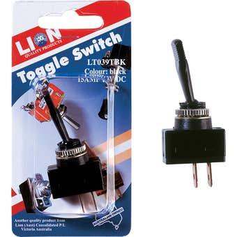Lion Toggle Switch Black