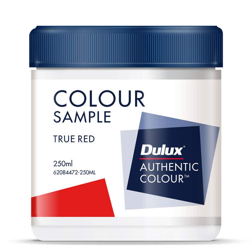 Dulux Sample Pot True Red Base 250ml