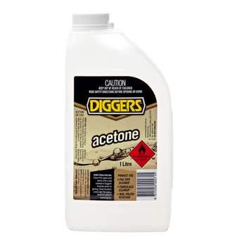 Diggers Acetone 1L