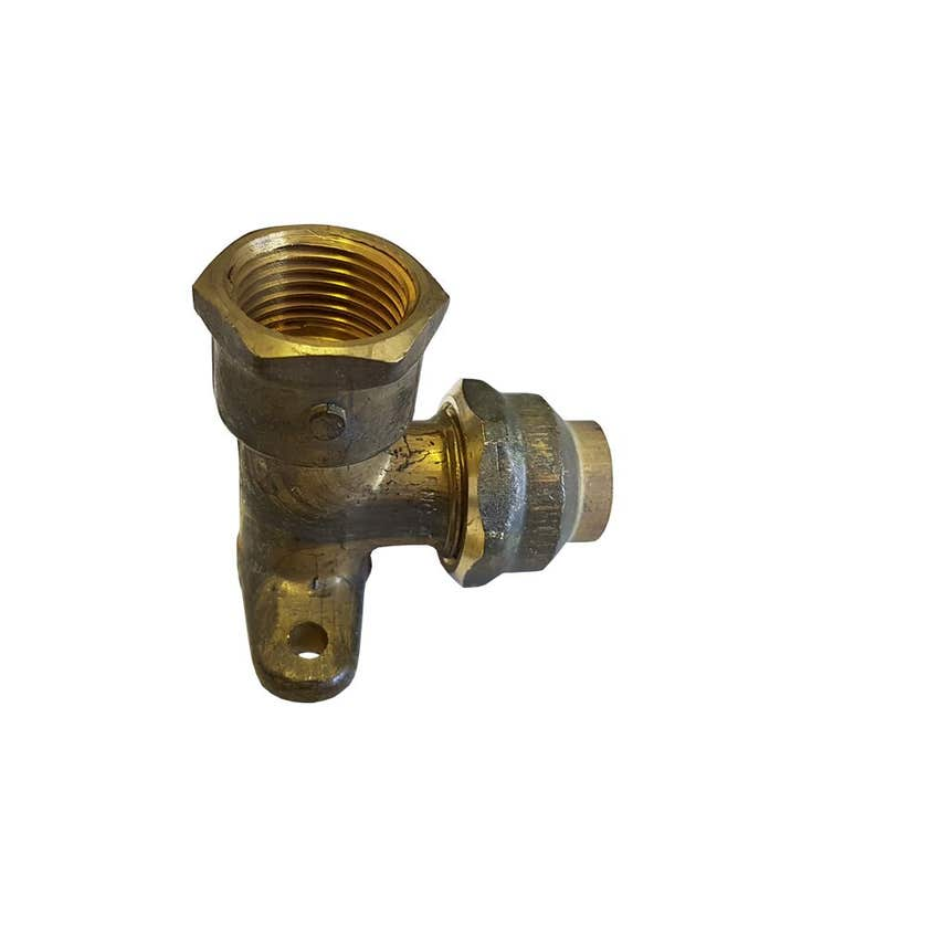 Elbow Wall Flare Comp Brass 15FI x 15C